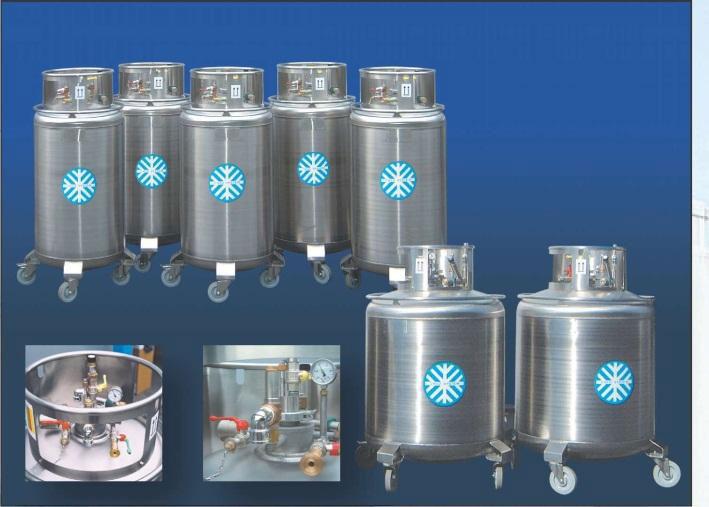 Genialny Zbiorniki transportowe ciekłego helu typ HDS wykonane w całości ze BA94